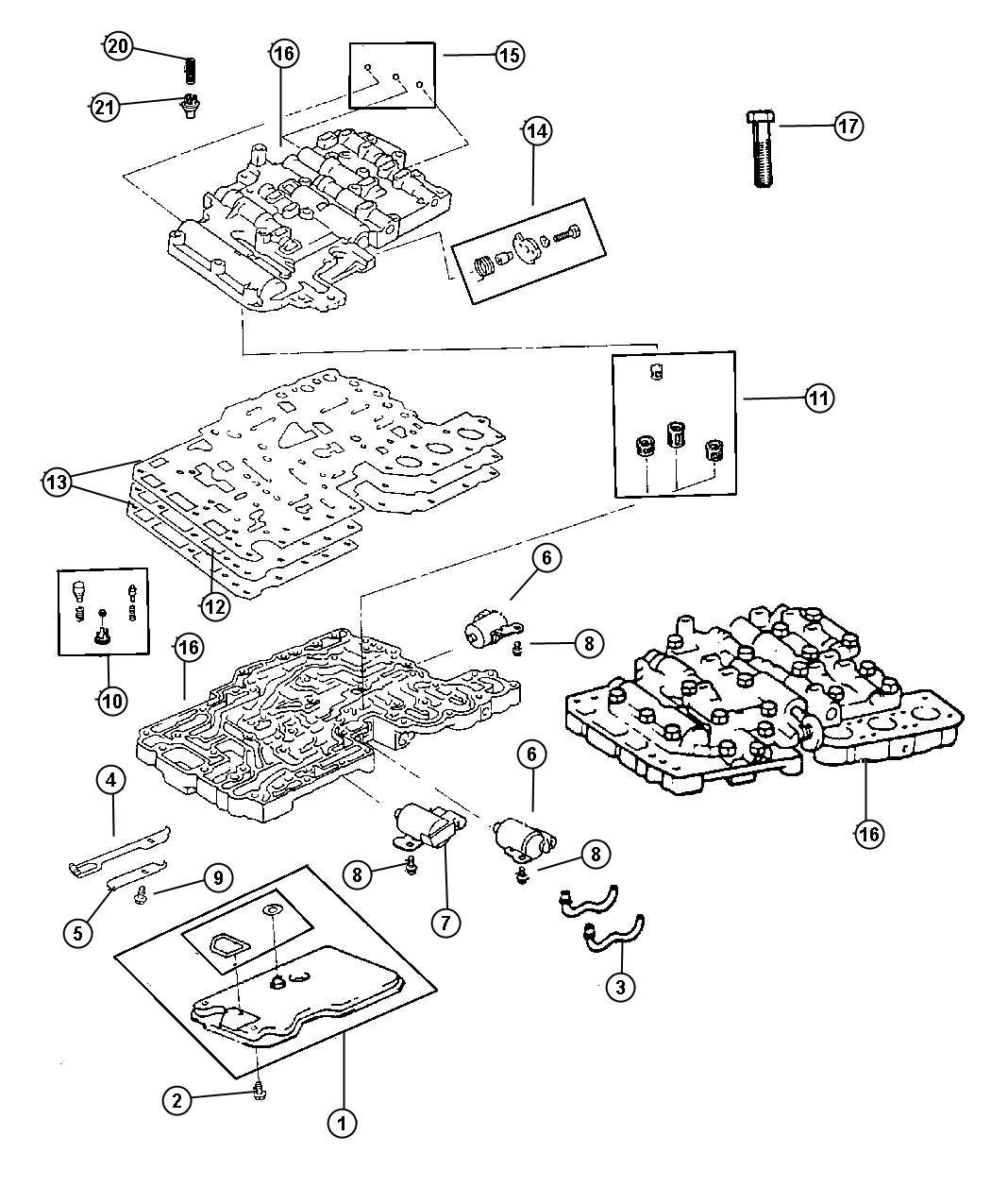 aw4 transmission solenoid wiring diagram