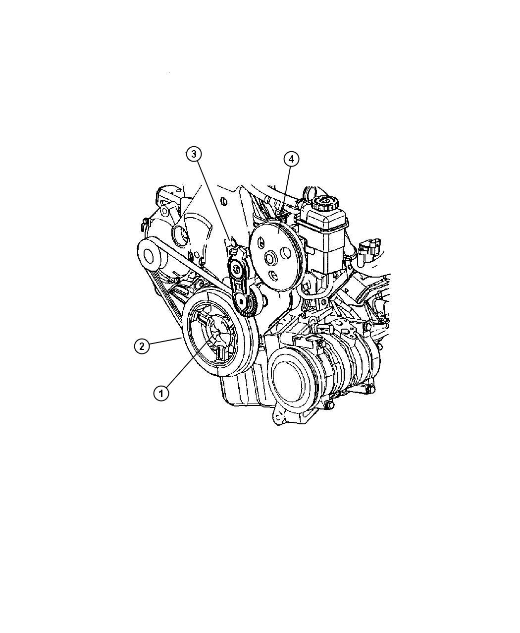 2001 Dodge Neon Used for: TENSIONER AND BRACKET. Engine