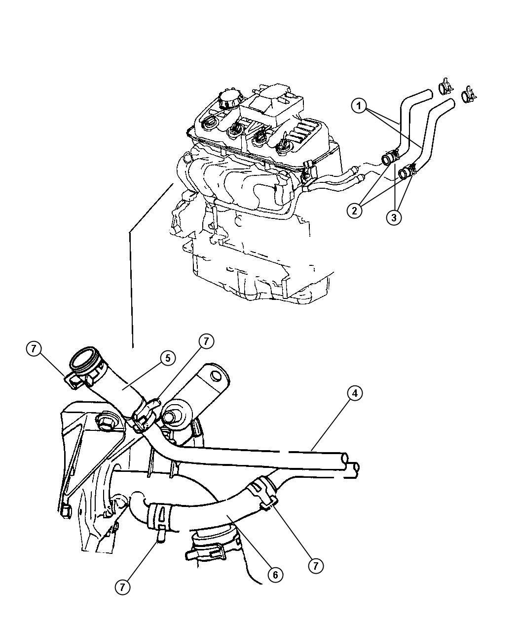Dodge Nitro Tube Heater Core Ulev Lecold