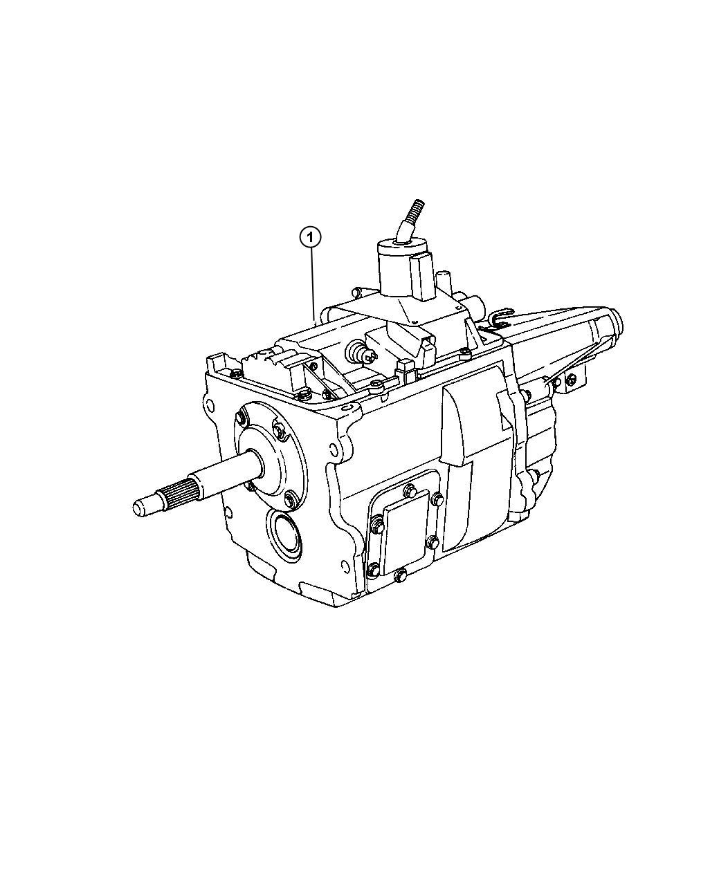 [1999 Dodge Grand Caravan Manual Transmission Schematic