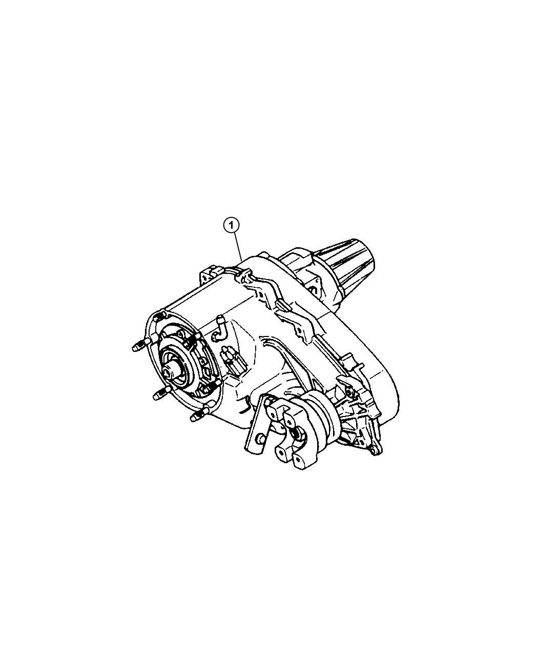 2000 Jeep Grand Cherokee Transfer case. Np242. Trac