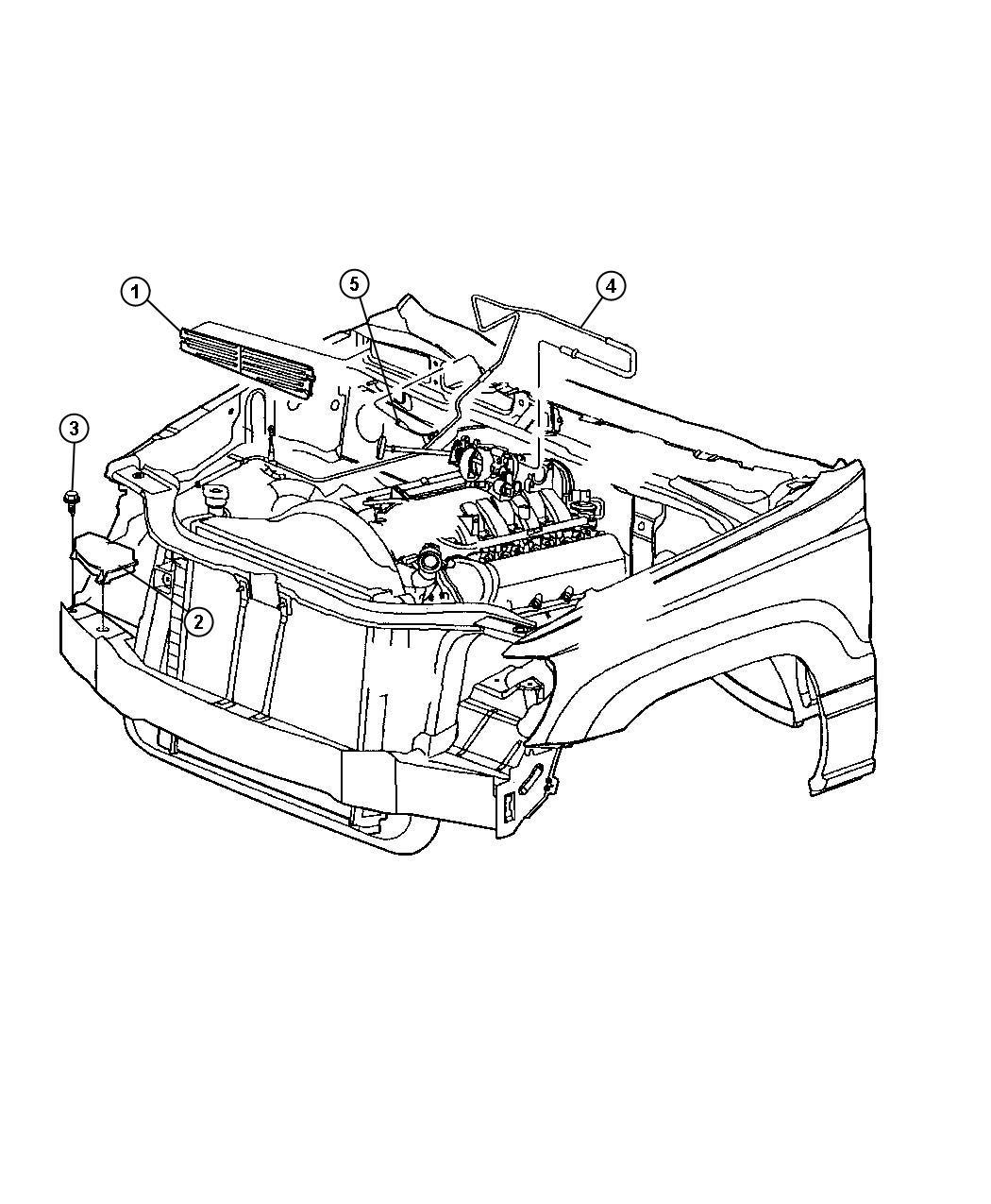 Dodge Journey Reservoir Vacuum Steering Controls