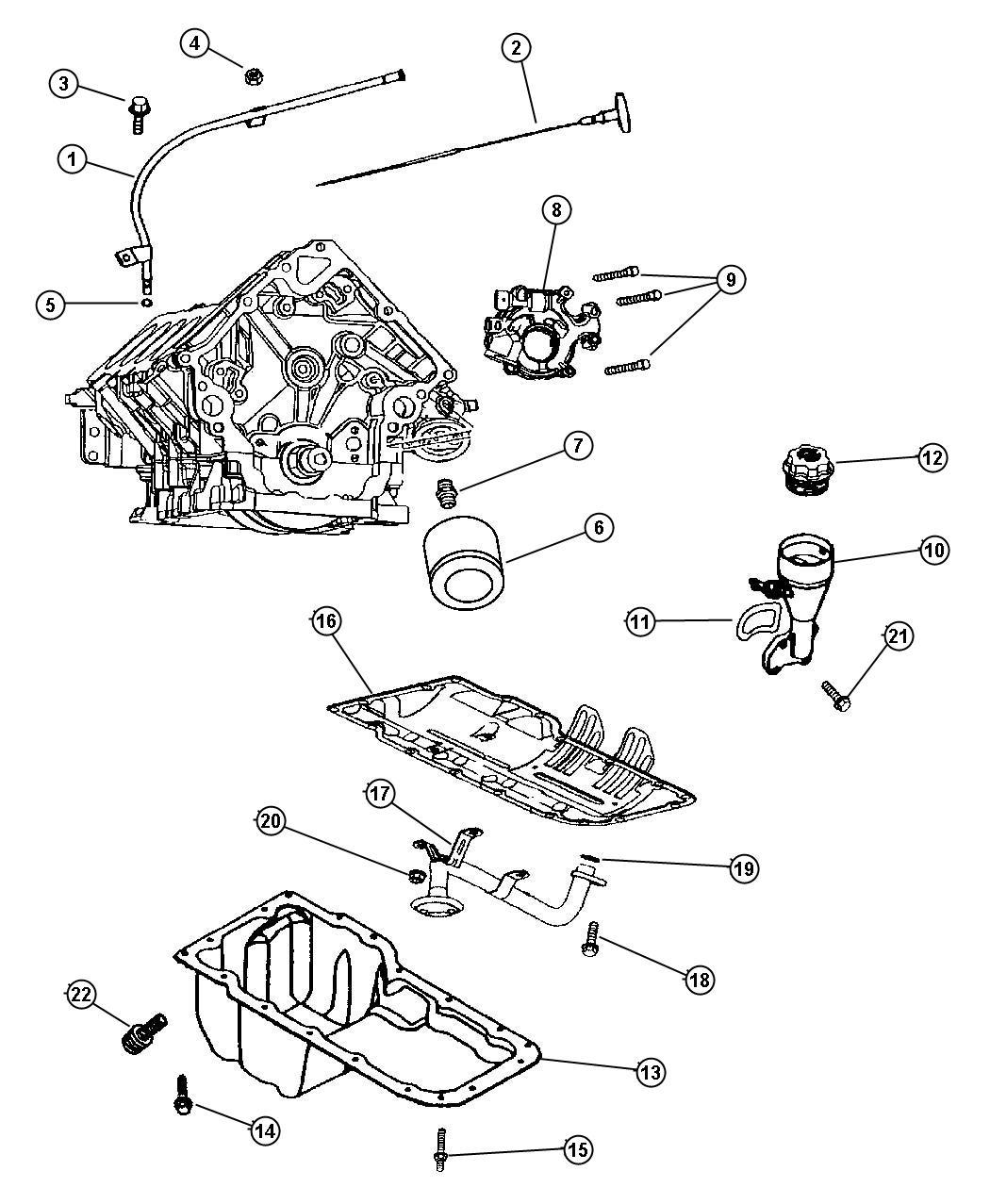 Dodge Durango Indicator. Engine oil level. Two wheel drive