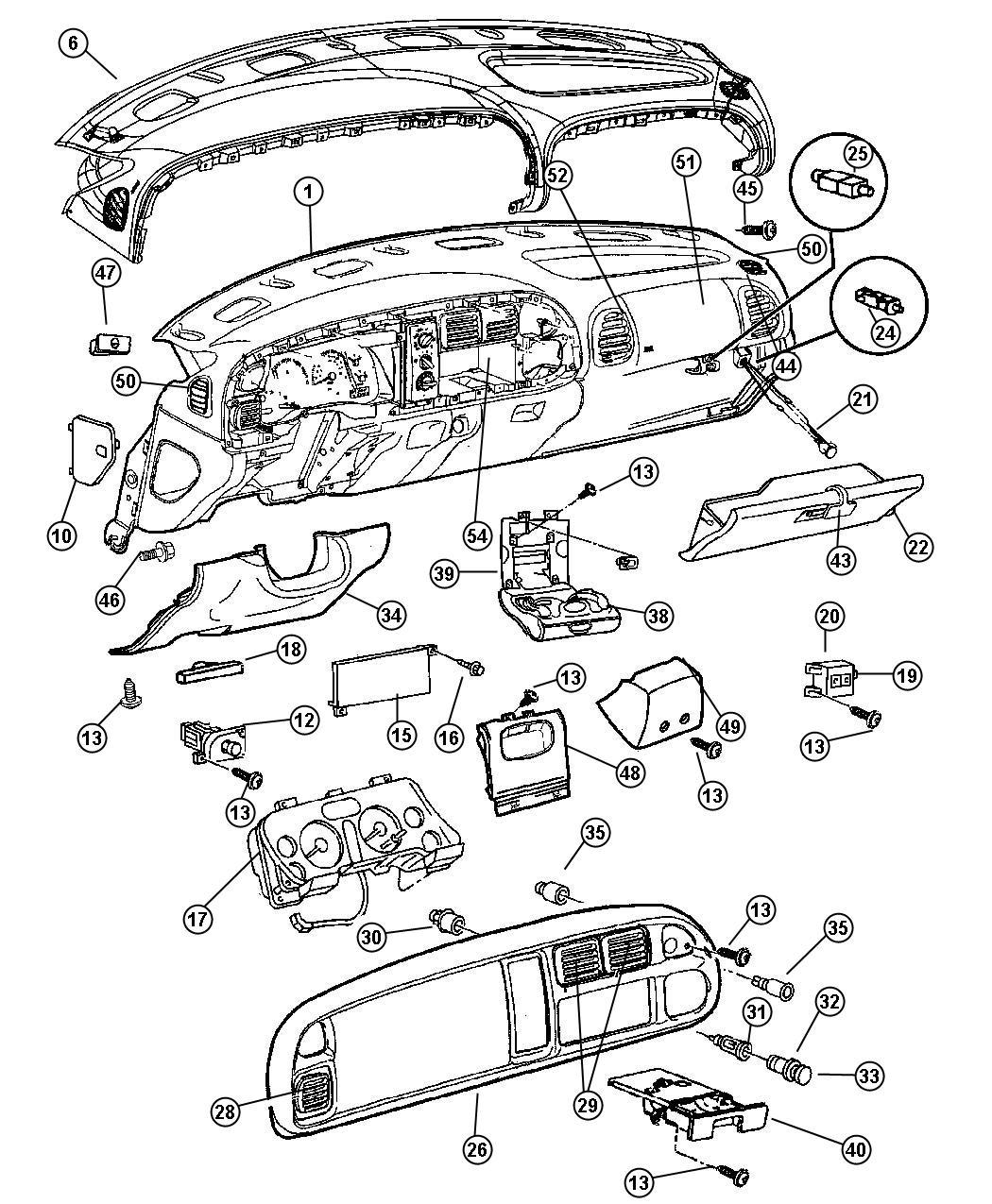 1999 Dodge Ram 2500 Door. Fuse acess. [az], agate. Trim