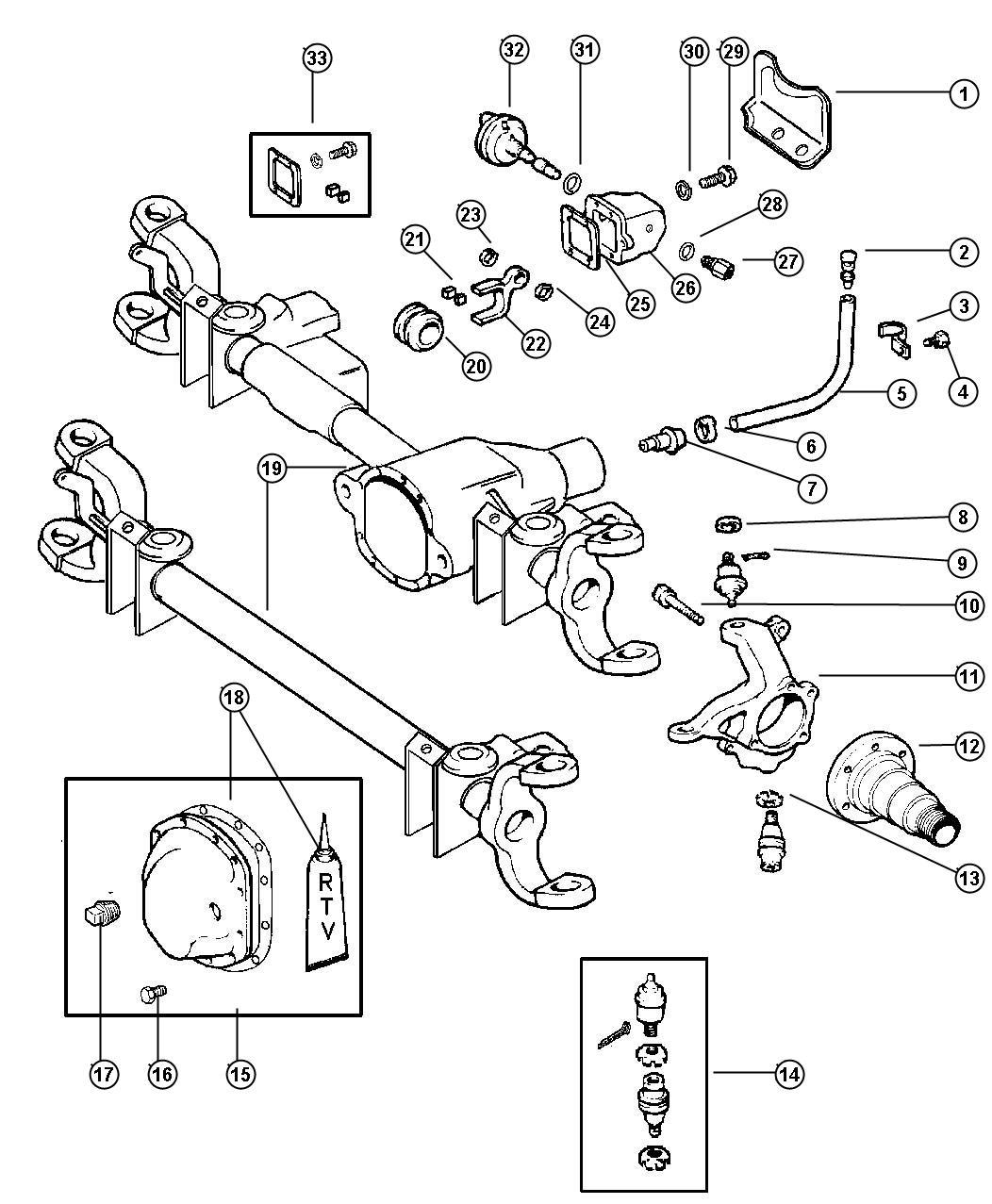 2000 Dodge Ram 2500 Sensor kit. Anti-lock brakes. Front