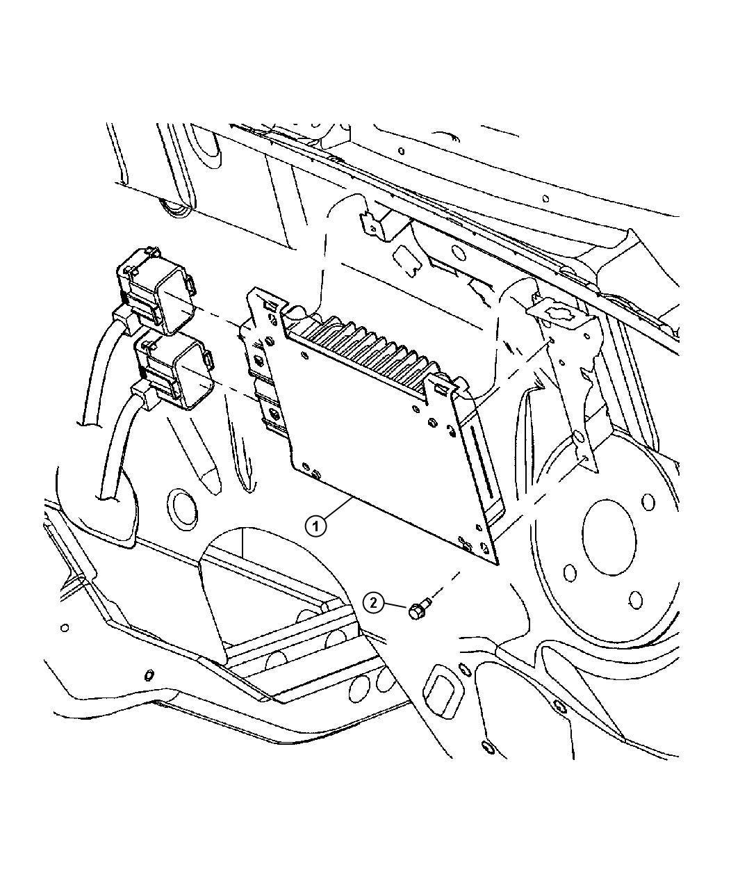 Chrysler Pt Cruiser Module Engine Controller Federal