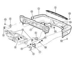 dodge durango accessories 2001 dodge durango step pad rear bumper [ 1050 x 1275 Pixel ]