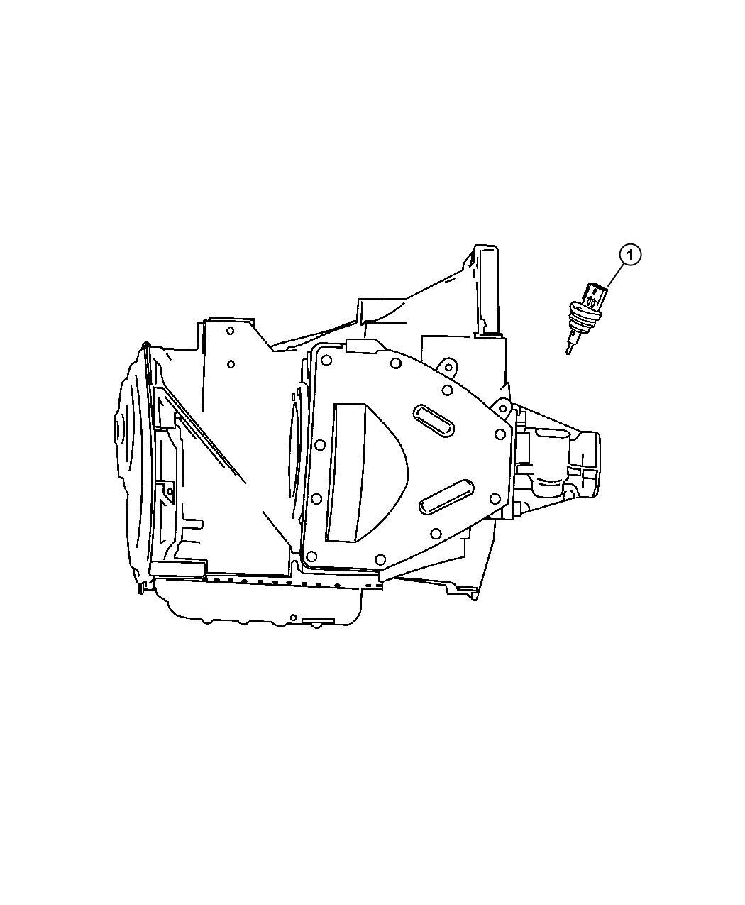 Dodge Neon Sensor. Vehicle speed. Speedometer, pinion