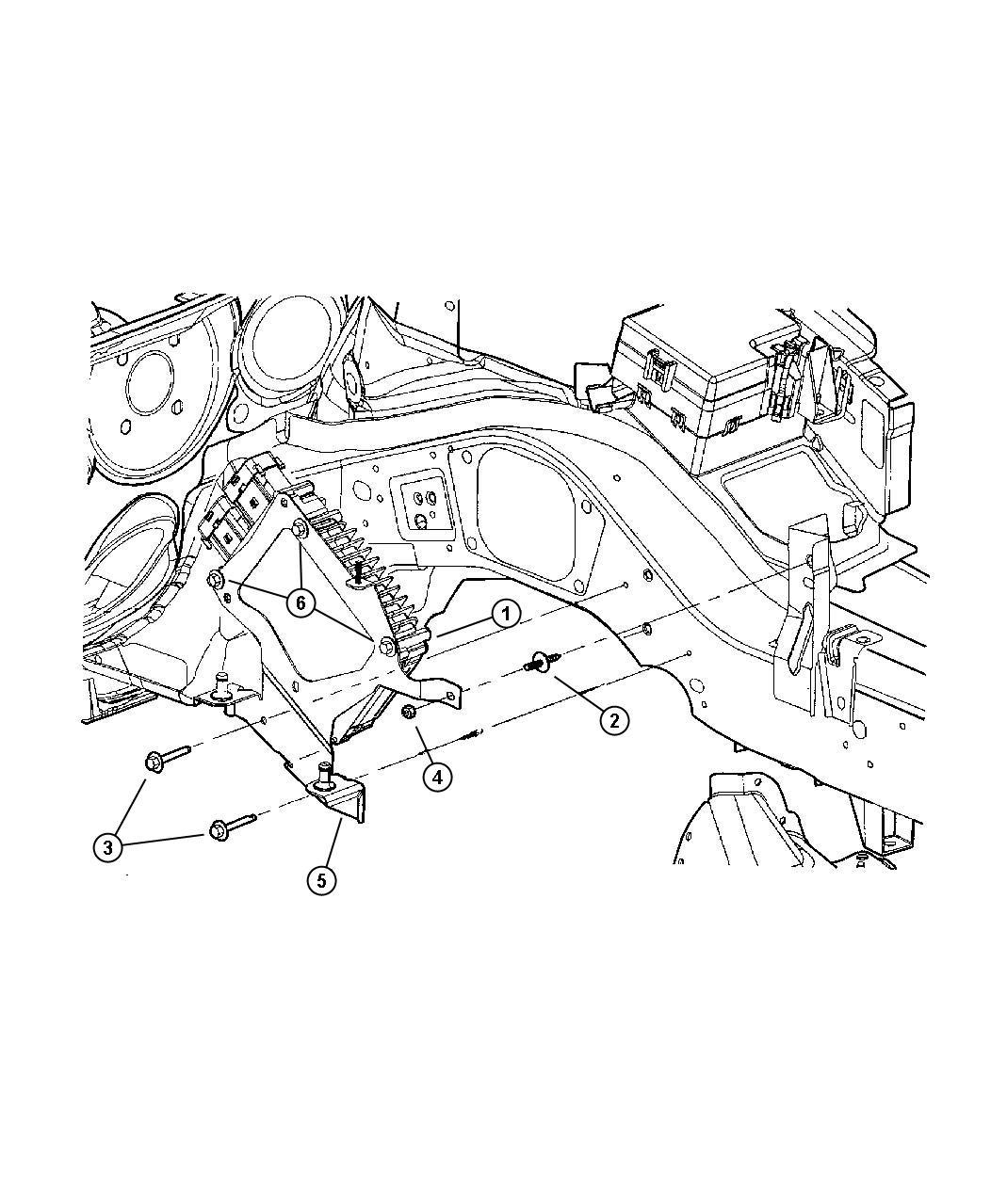 Chrysler Sebring Module Engine Controller