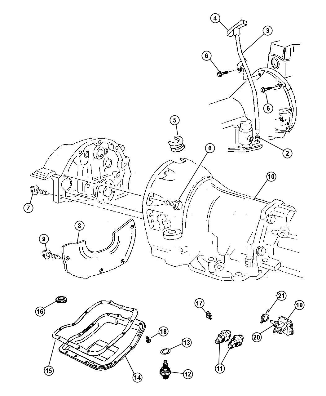 Dodge Dakota Bracket Switch Nuetral Drivetrain