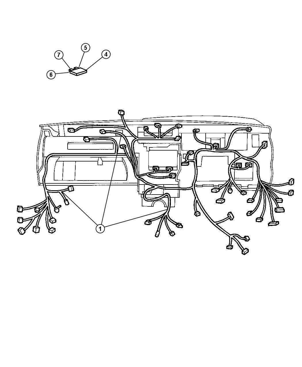 Jeep Grand Cherokee Tape. Foam, radio connector. Trim