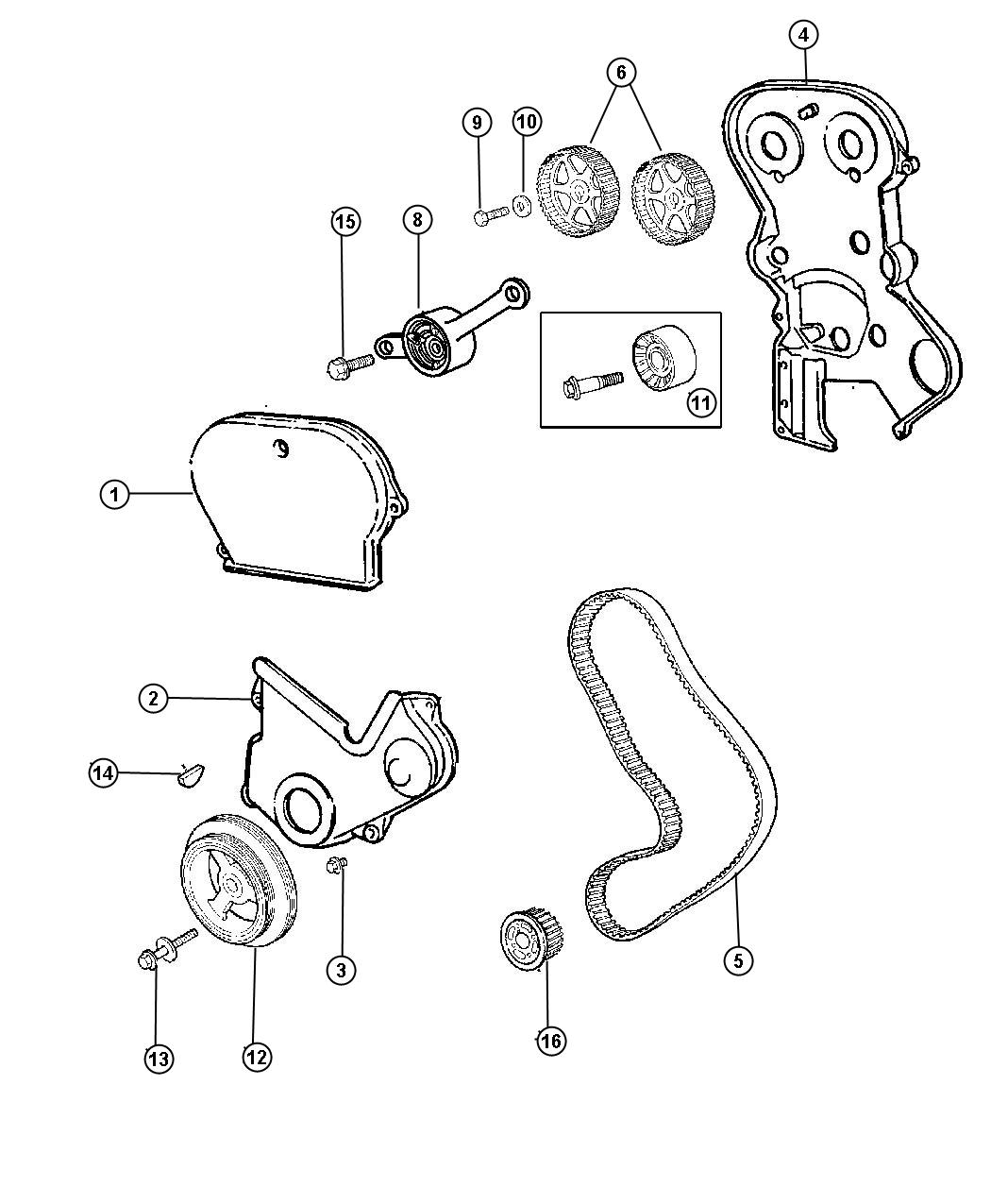 Chrysler Voyager Screw. Map sensor. Attacing, sensot