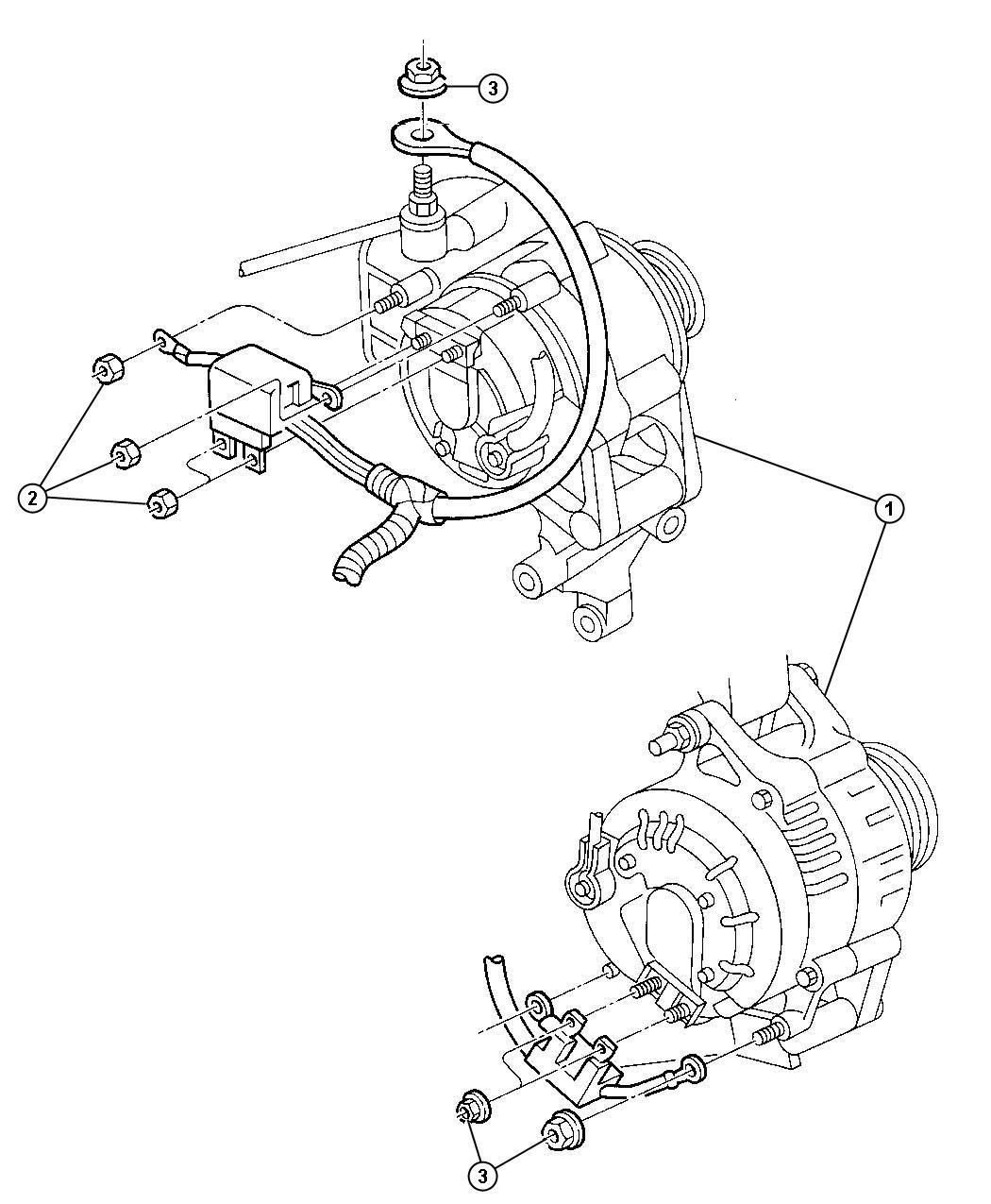 Dodge Challenger Generator Engine Alternator