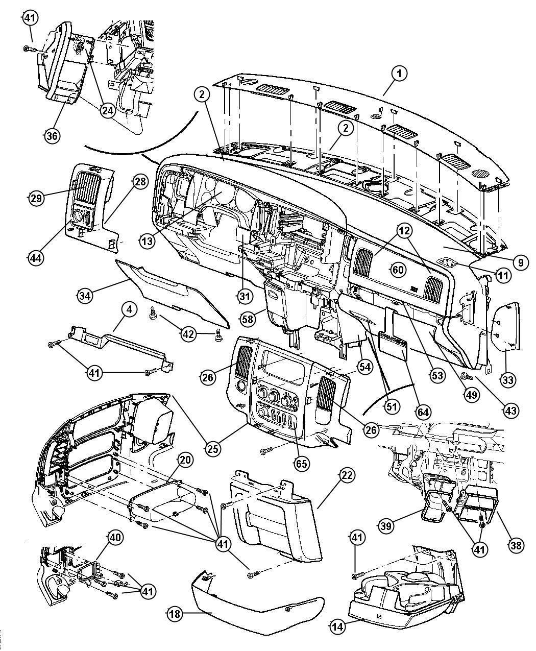 Dodge Ram Latch Glovebox Dv Trim O0 Color Dv