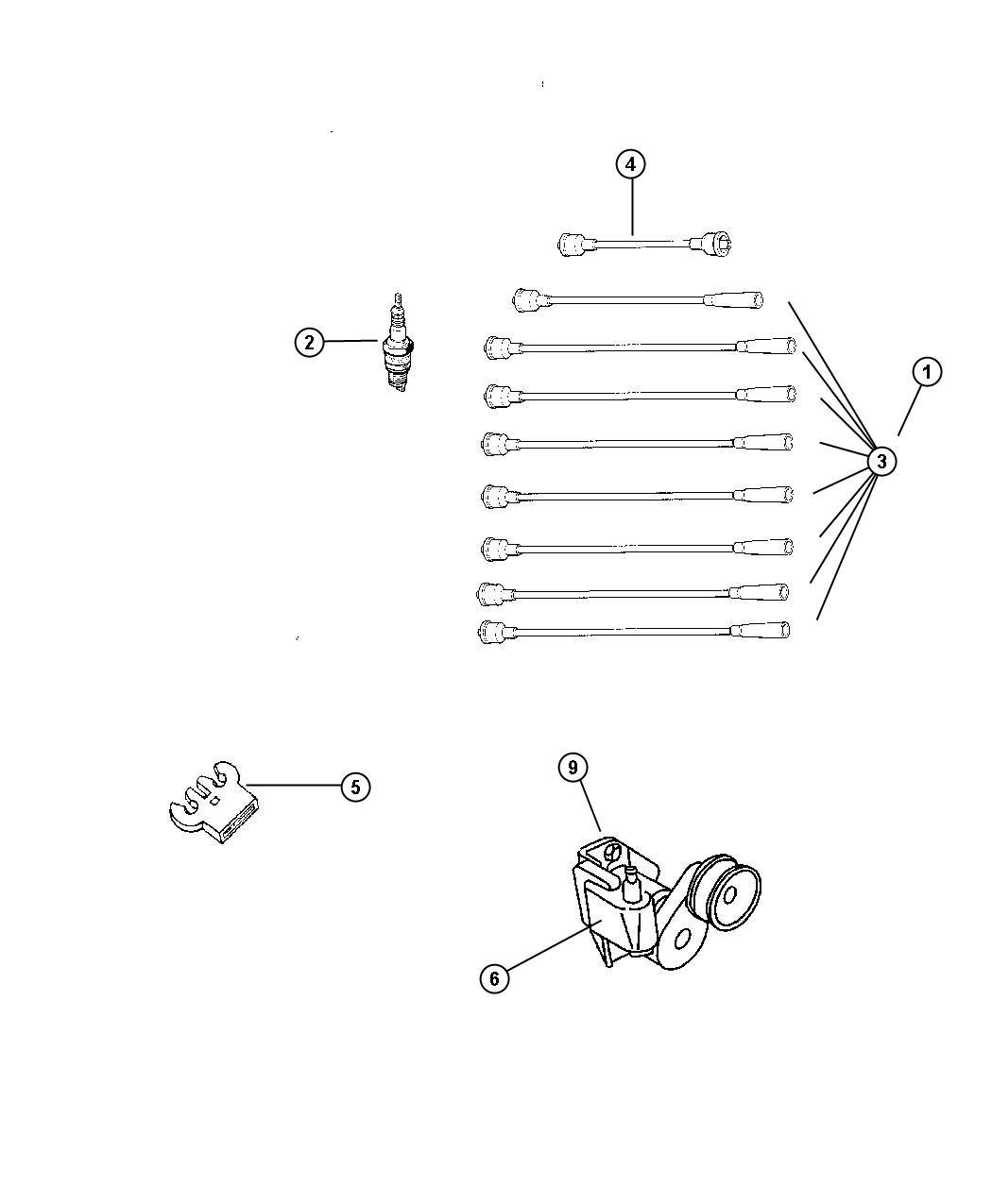 2012 Dodge Challenger Spark plug. Plugs, engine, ignition