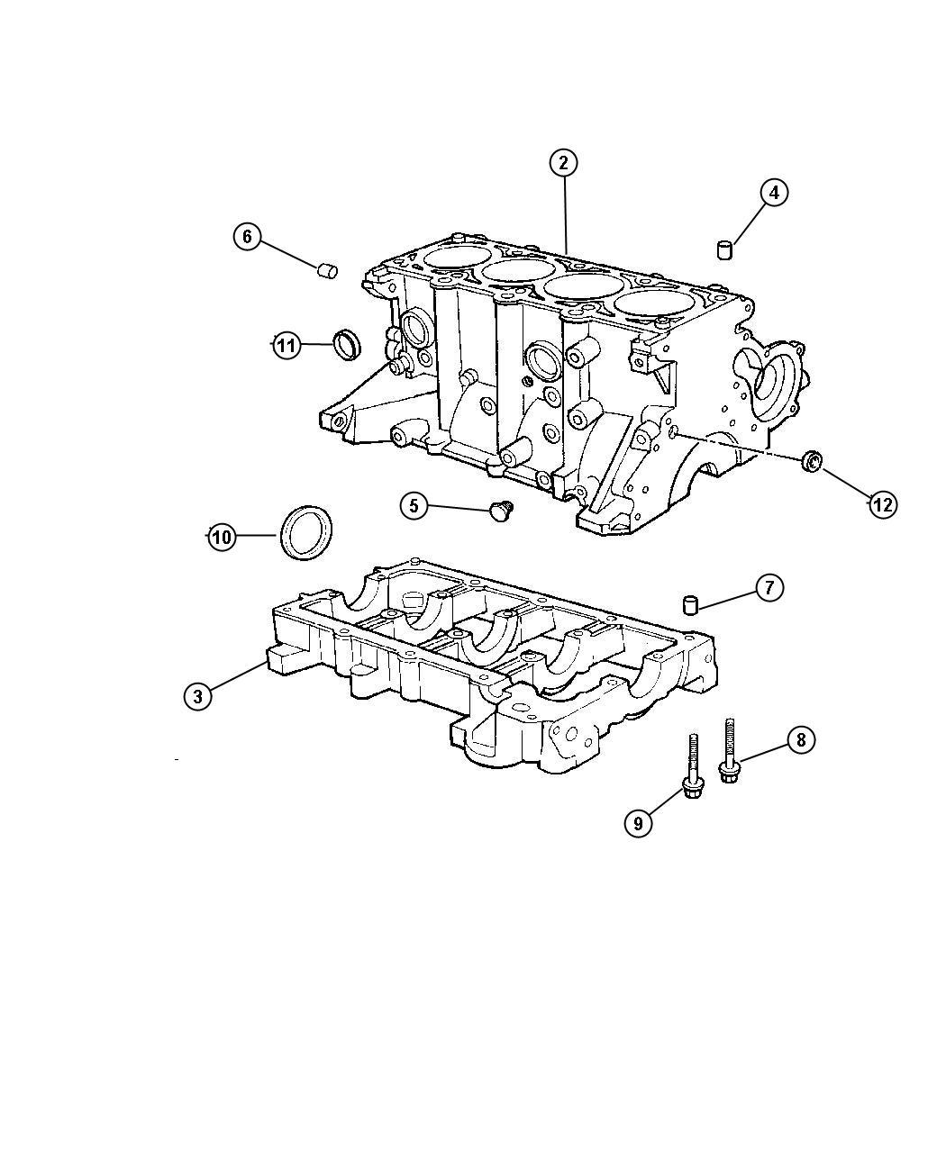 Dodge Dart Gasket Package Engine Lower