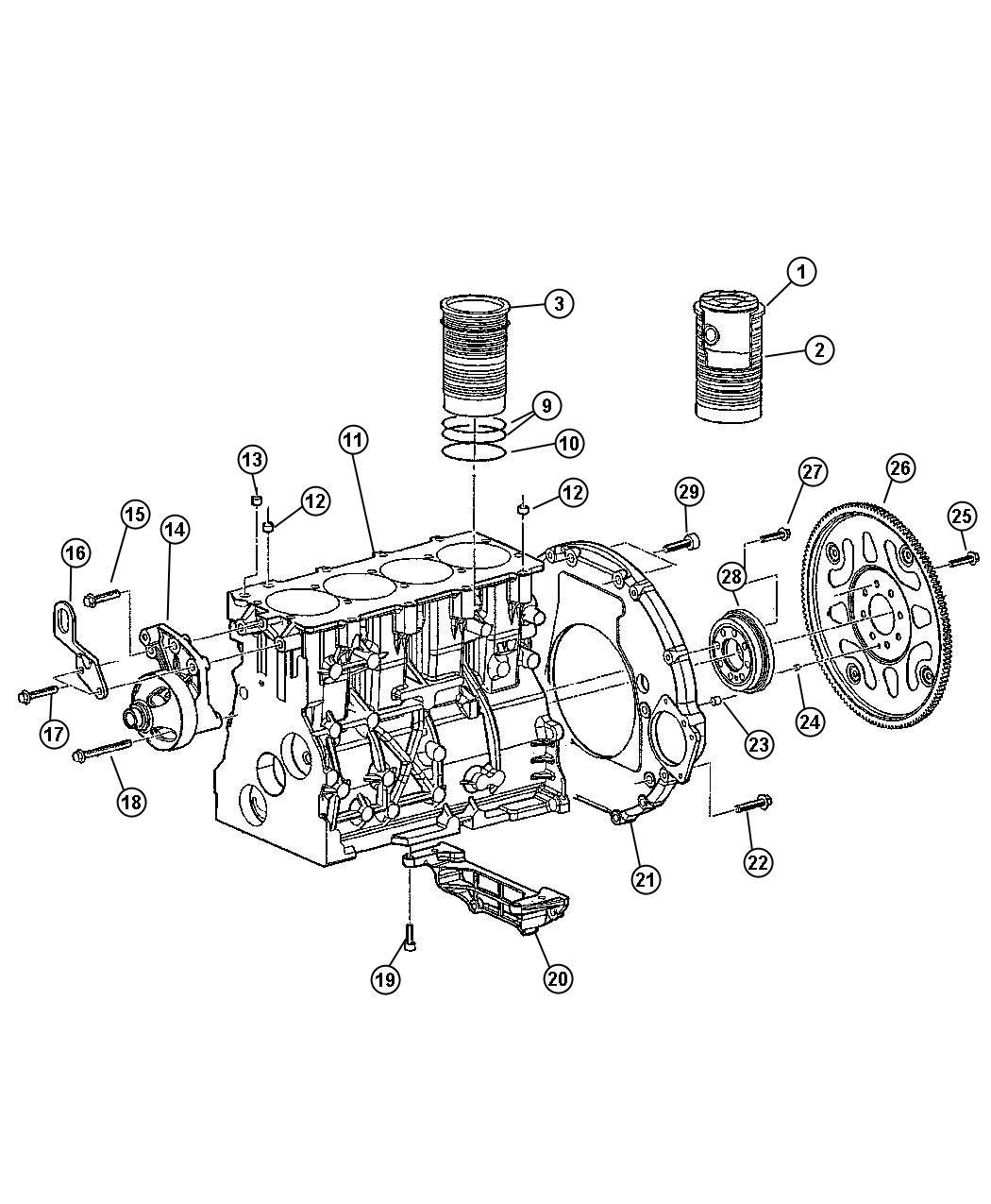Dodge Ram Plate Torque Converter Drivesel