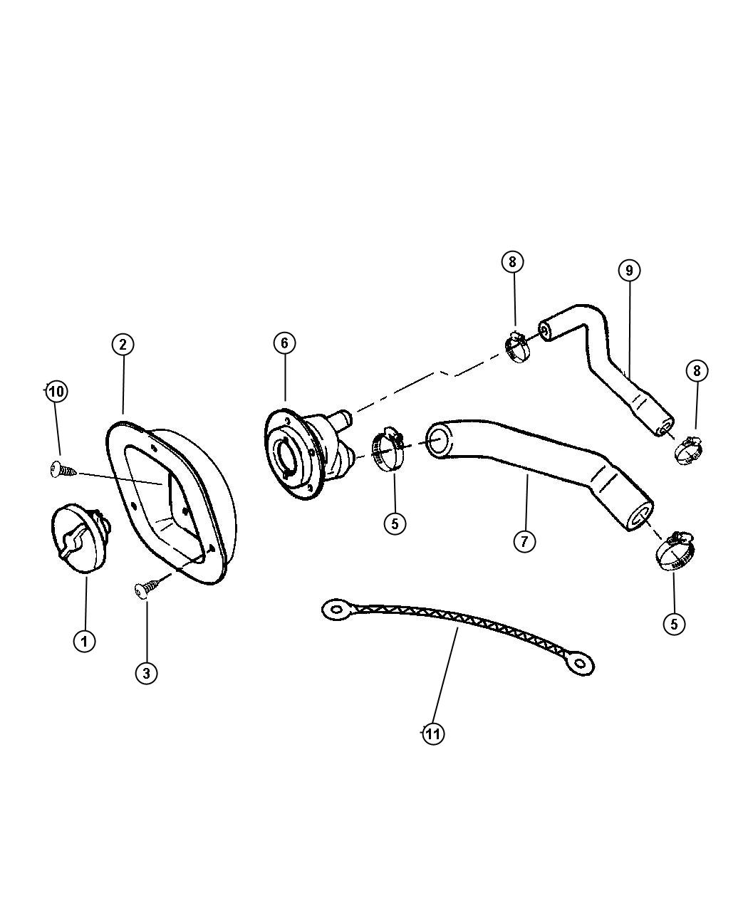 1998 Dodge Grand Caravan Used for: SCREW AND WASHER. 190