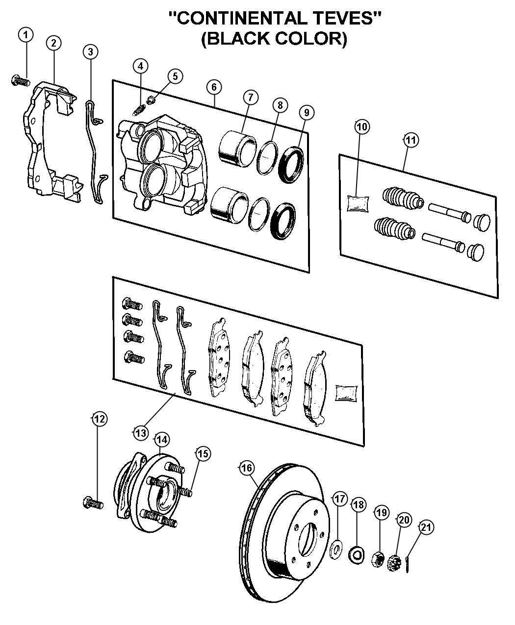 2000 Jeep Grand Cherokee Rotor. Brake. Axle, trac, ratio