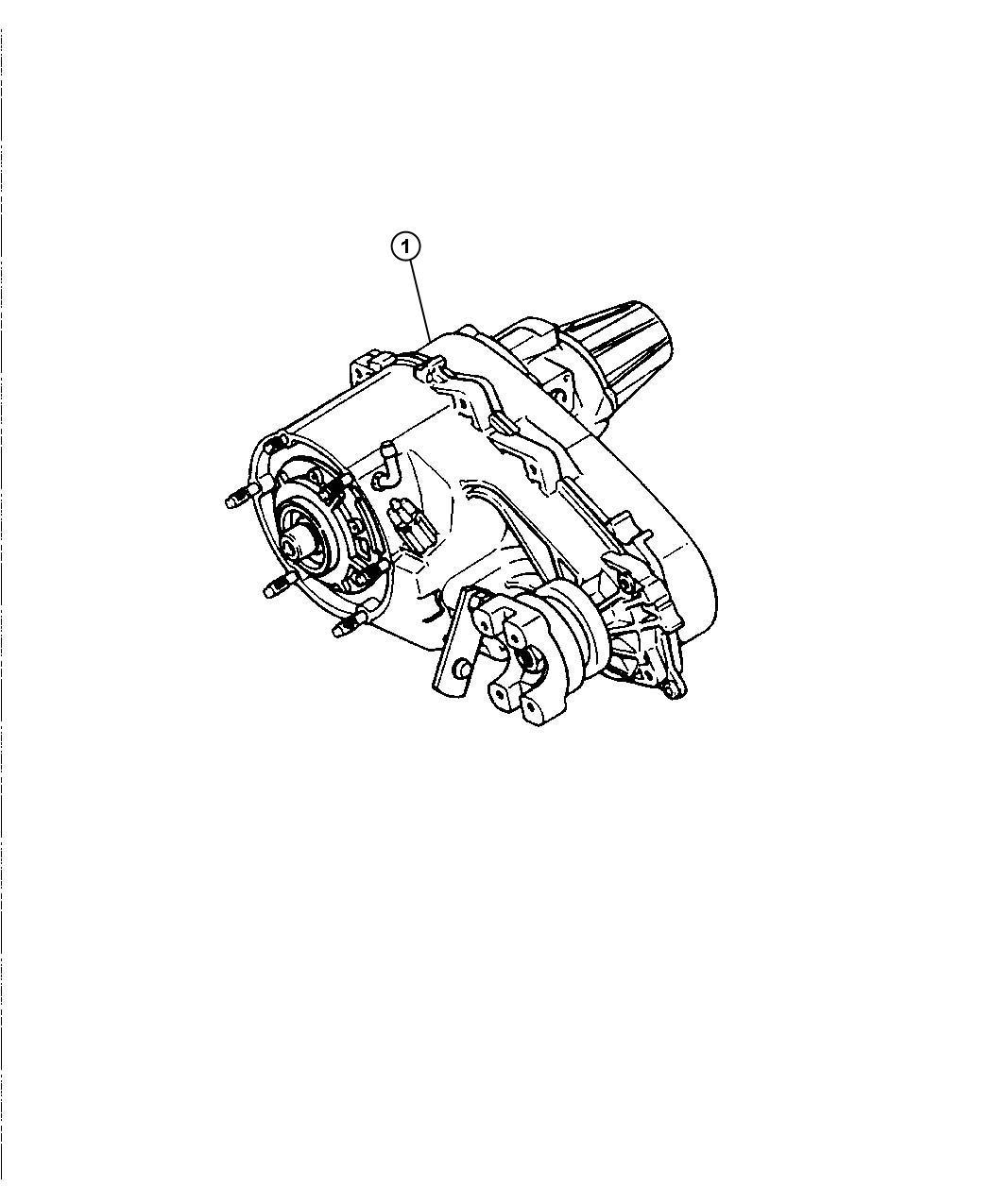 Dodge Journey Transfer Case Nv244 Remanufactured Time