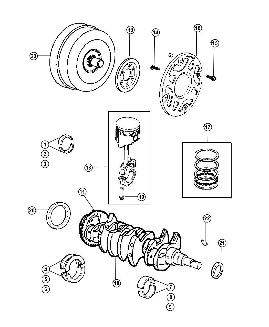 Dodge Magnum Converter Torque Remanufactured Export