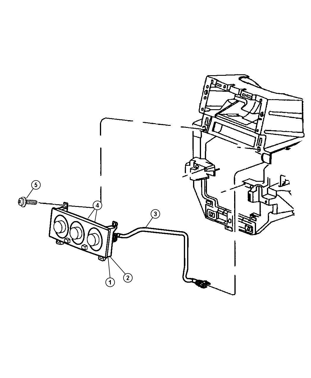 Dodge Sprinter Control Auto Temp Control Air Zone Dual