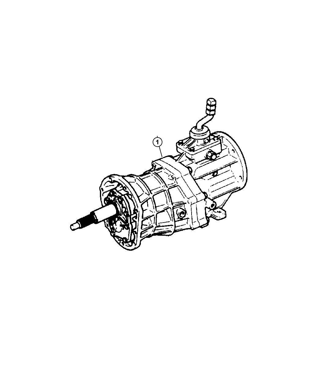 Jeep Liberty Transmission 5 Speed