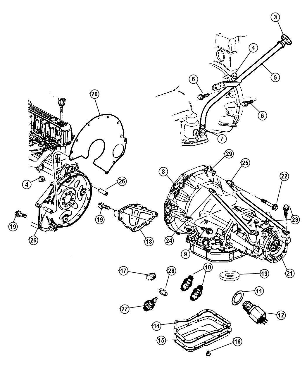 2008 Jeep Liberty SPORT Indicator. Transmission fluid