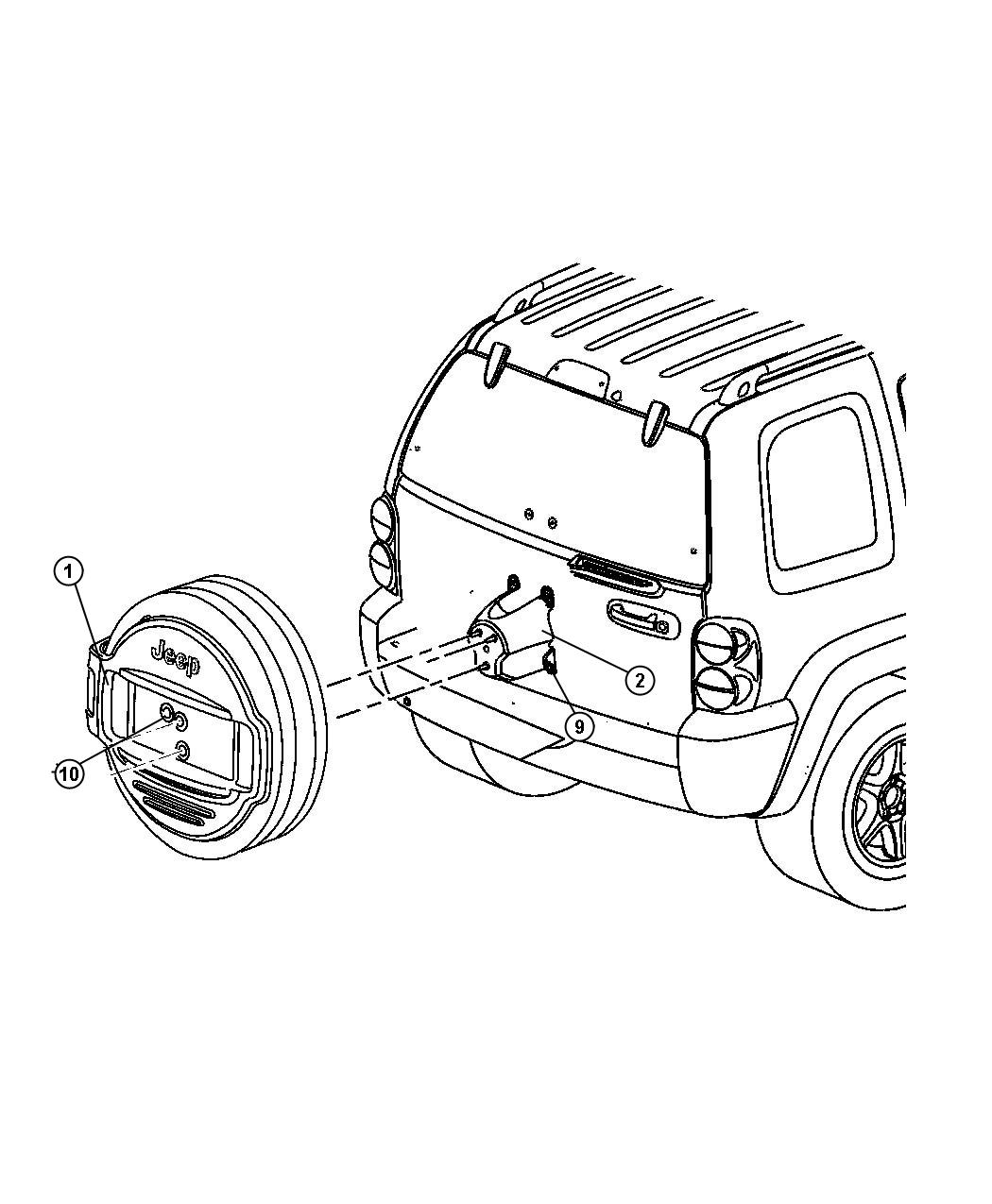 Jeep Liberty Transmission Control Module Sketch Coloring Page