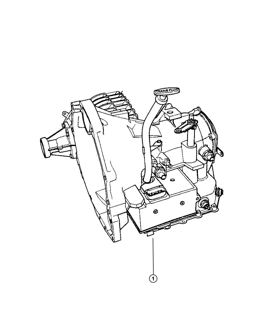 Dodge Stratus Transaxle package. With torque converter