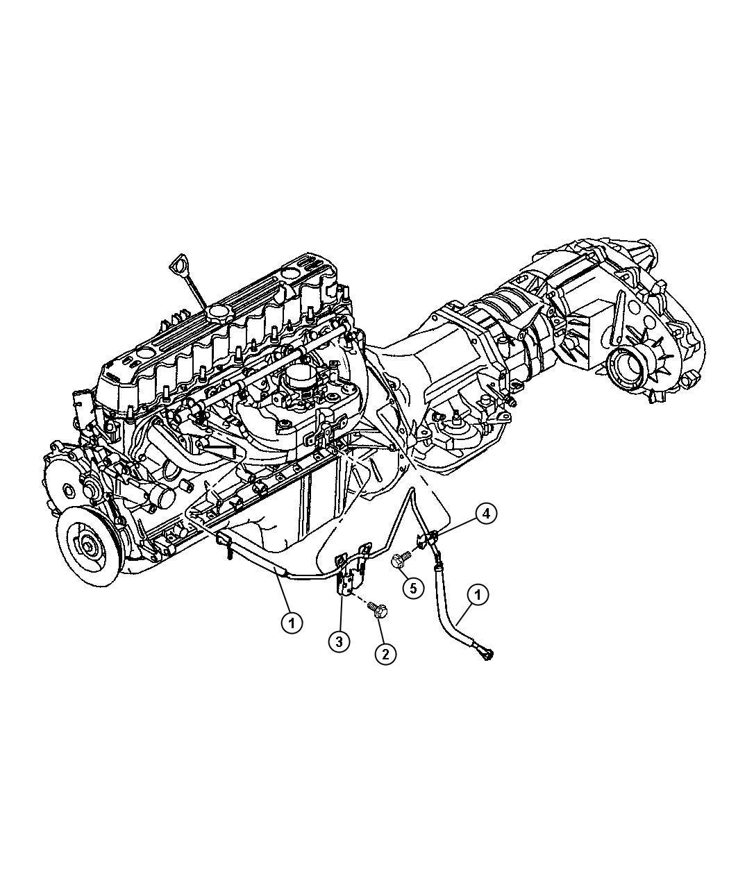 Chrysler Sebring Bundle Fuel Line Forth