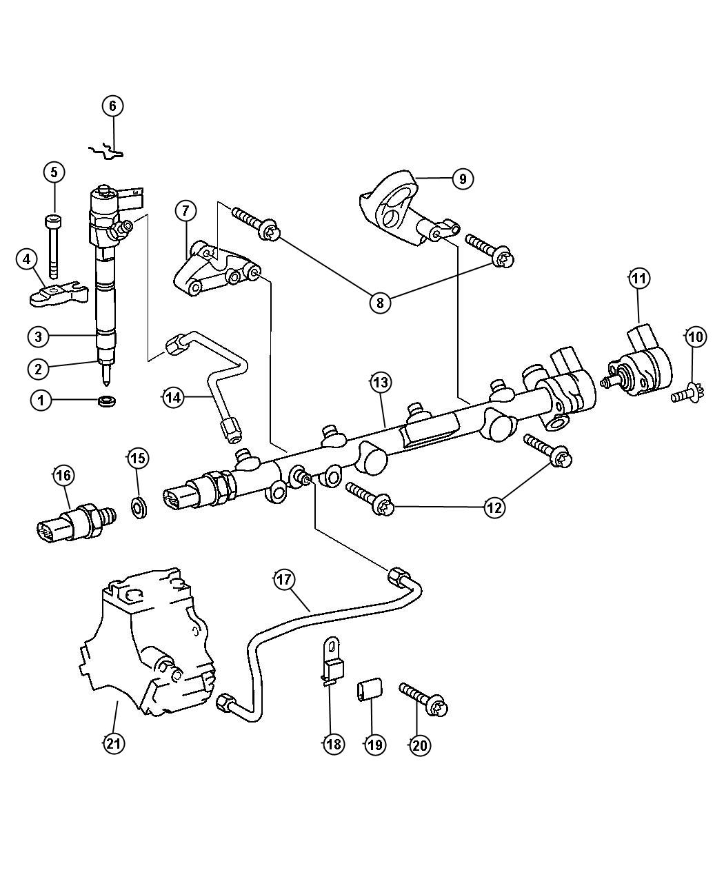 Dodge Ram Bracket Pump Fuel Injection Pump