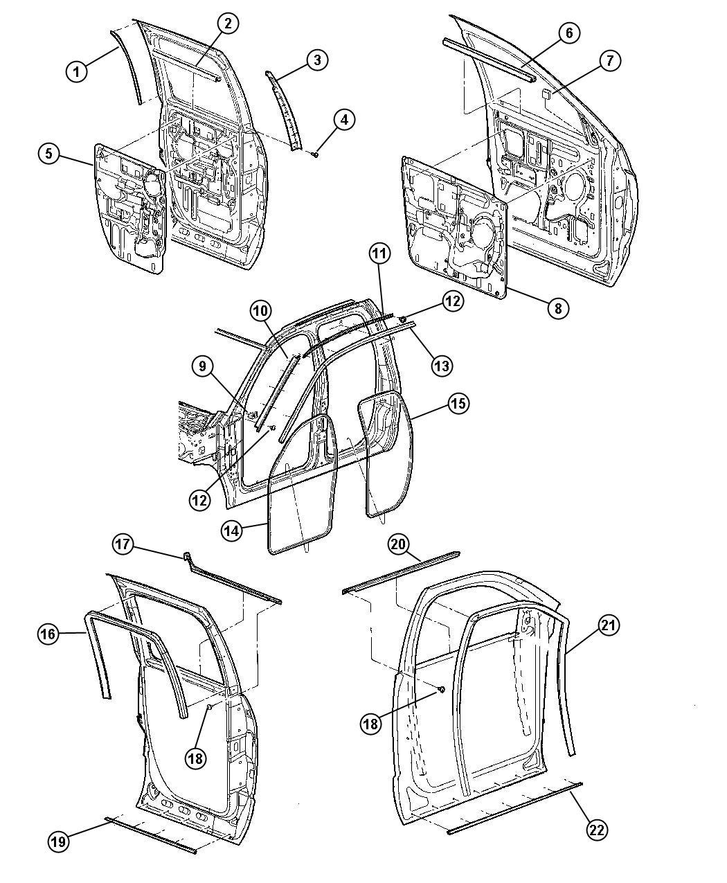 Dodge Ram Slt Quad Cab 5 7l V8 A T 4x4 Seal
