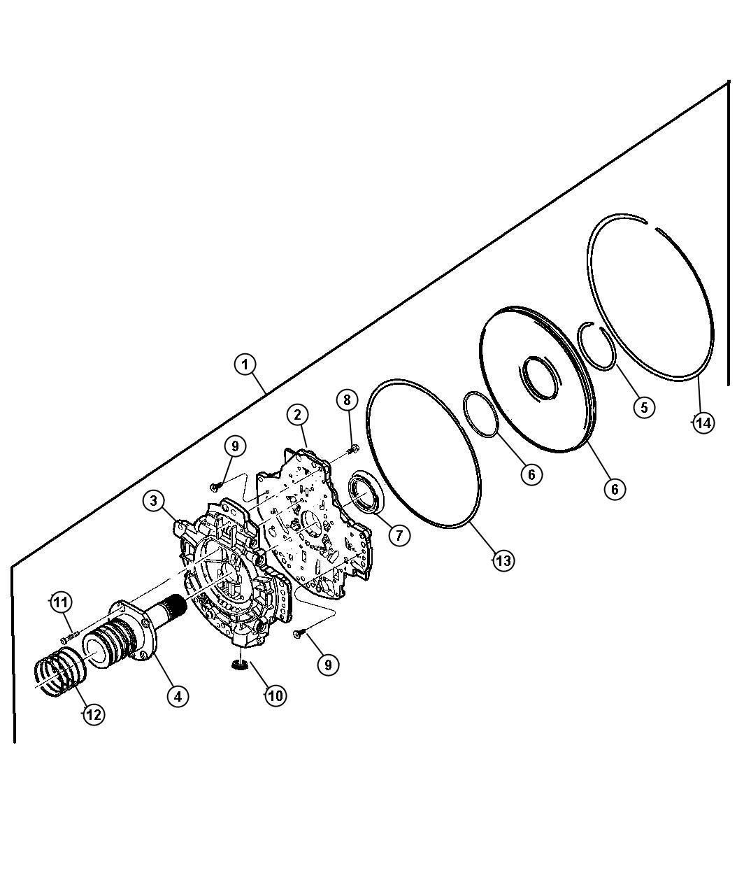 Dodge Ram 1500 Pump kit. Transmission oil. Axle, automatic