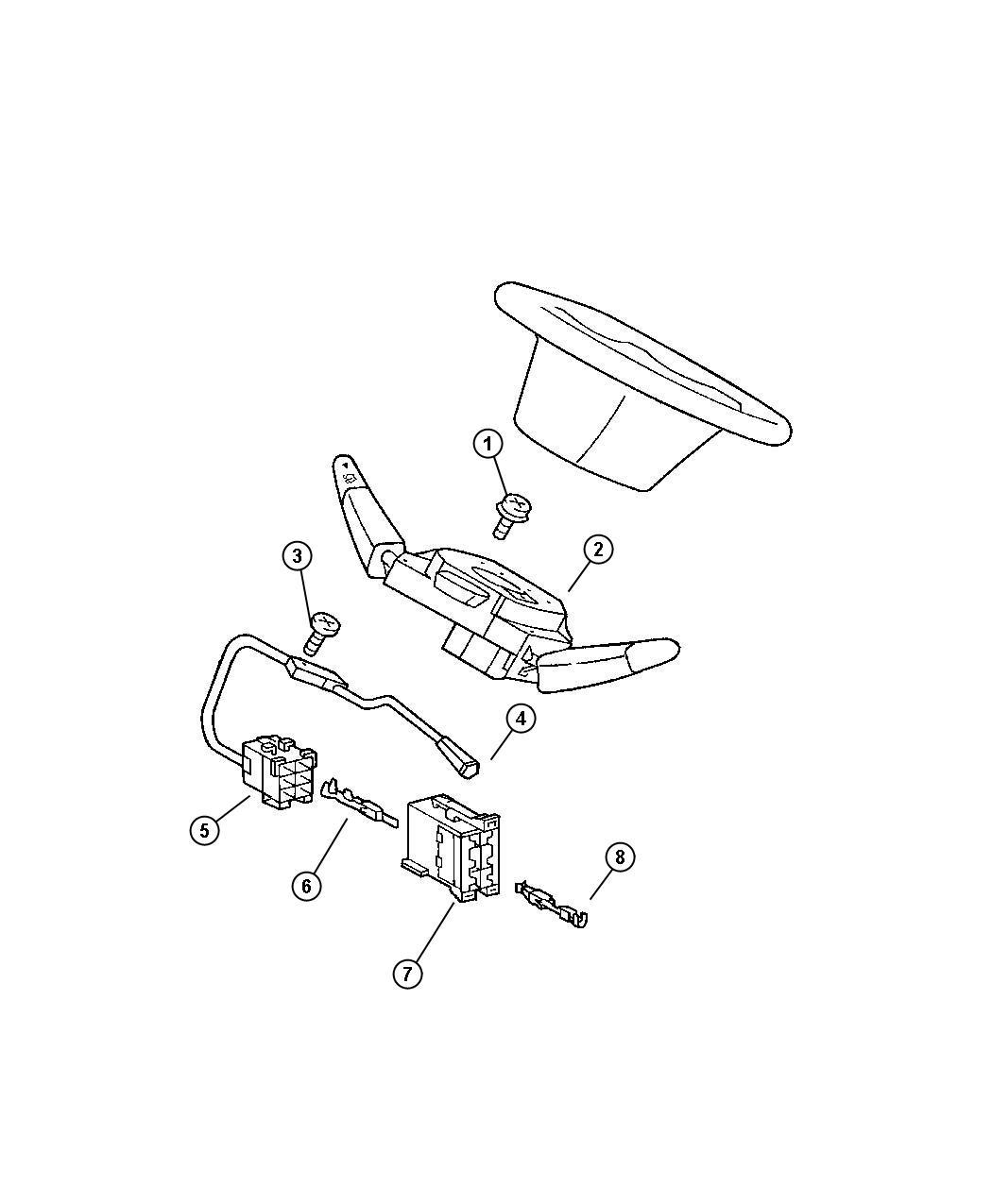 Dodge Ram Steering Column Diagram