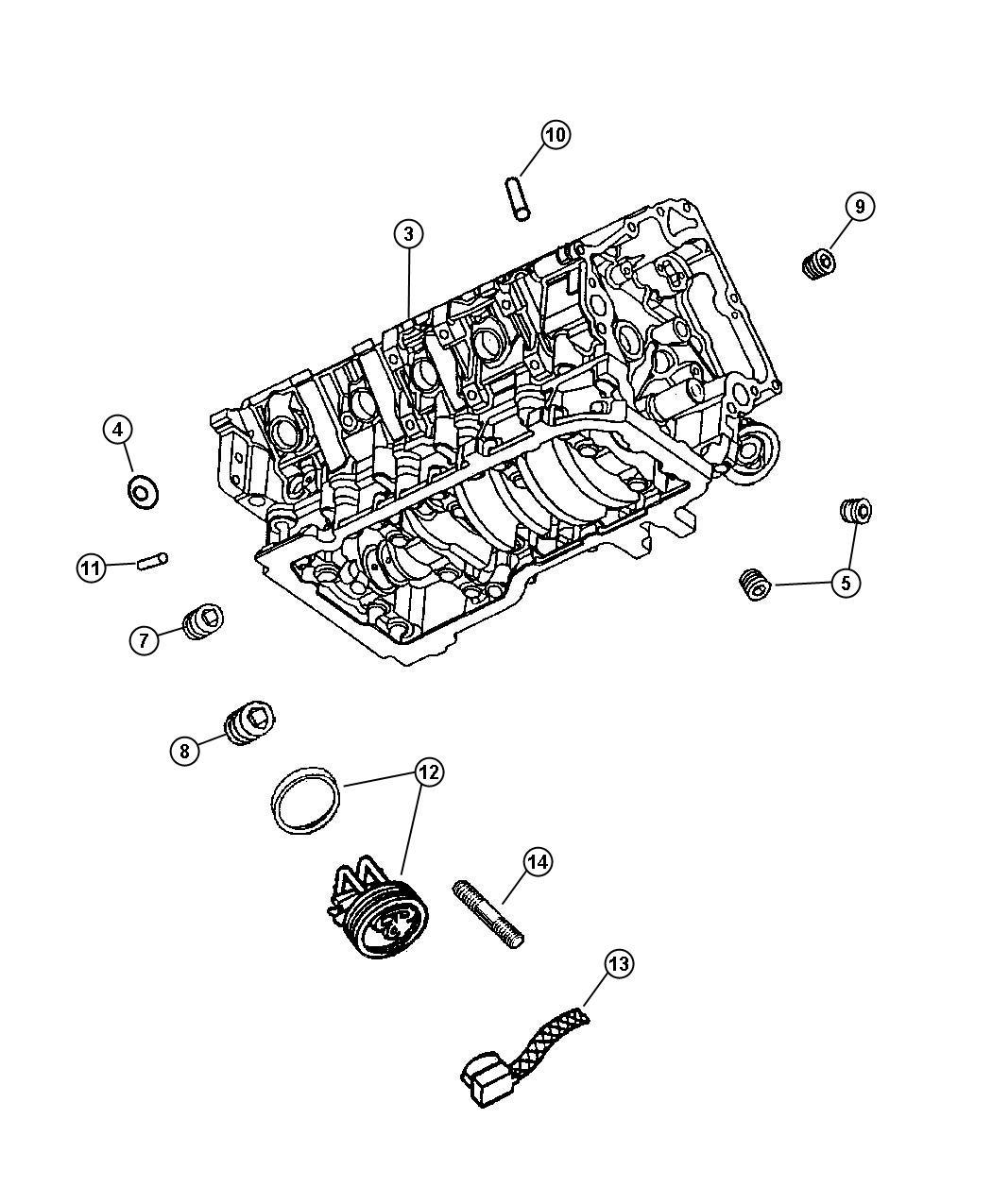 Dodge Durango Gasket kit, gasket package. Engine, engine
