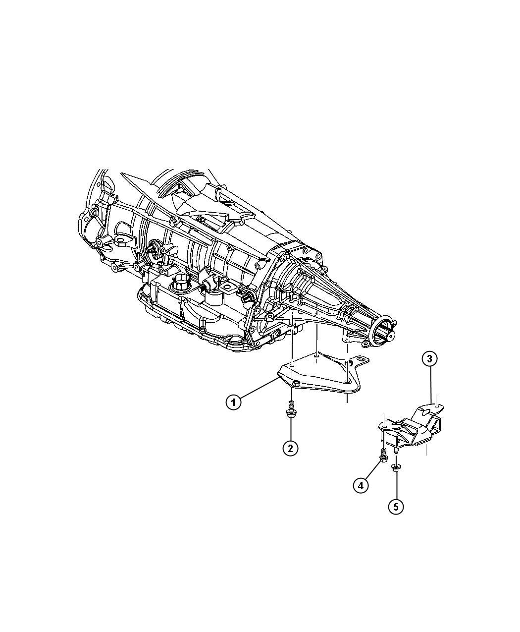 Jeep Patriot Used For Bracket And Insulator