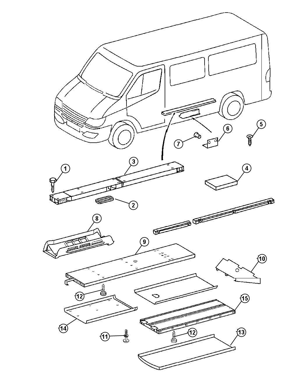 Dodge Durango Air Duct Rear Conditioning Wheelbase