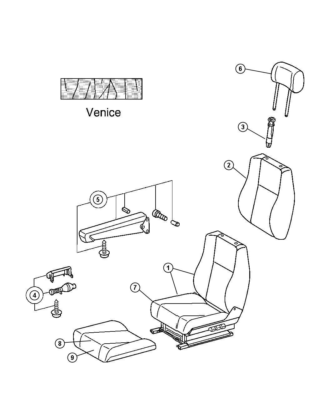 Dodge Sprinter Seat Left Comfort Seat Driver Luxury