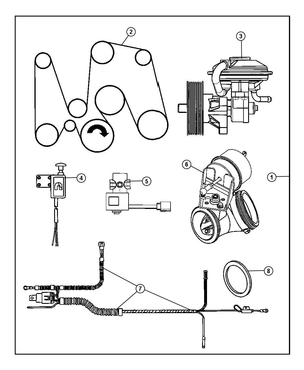 Dodge Ram Pump Vacuum