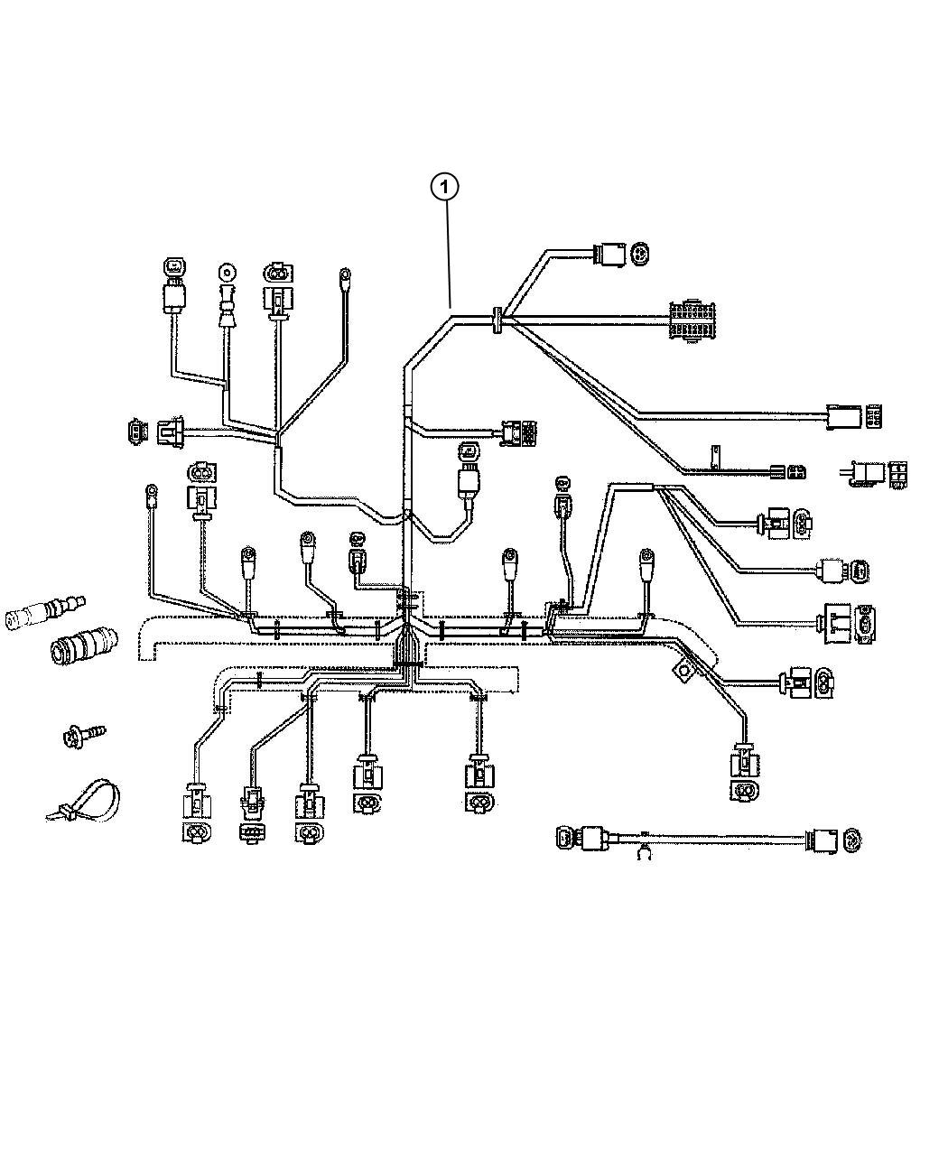 2010 Jeep Patriot Wiring. Engine. Tag, related, mopar