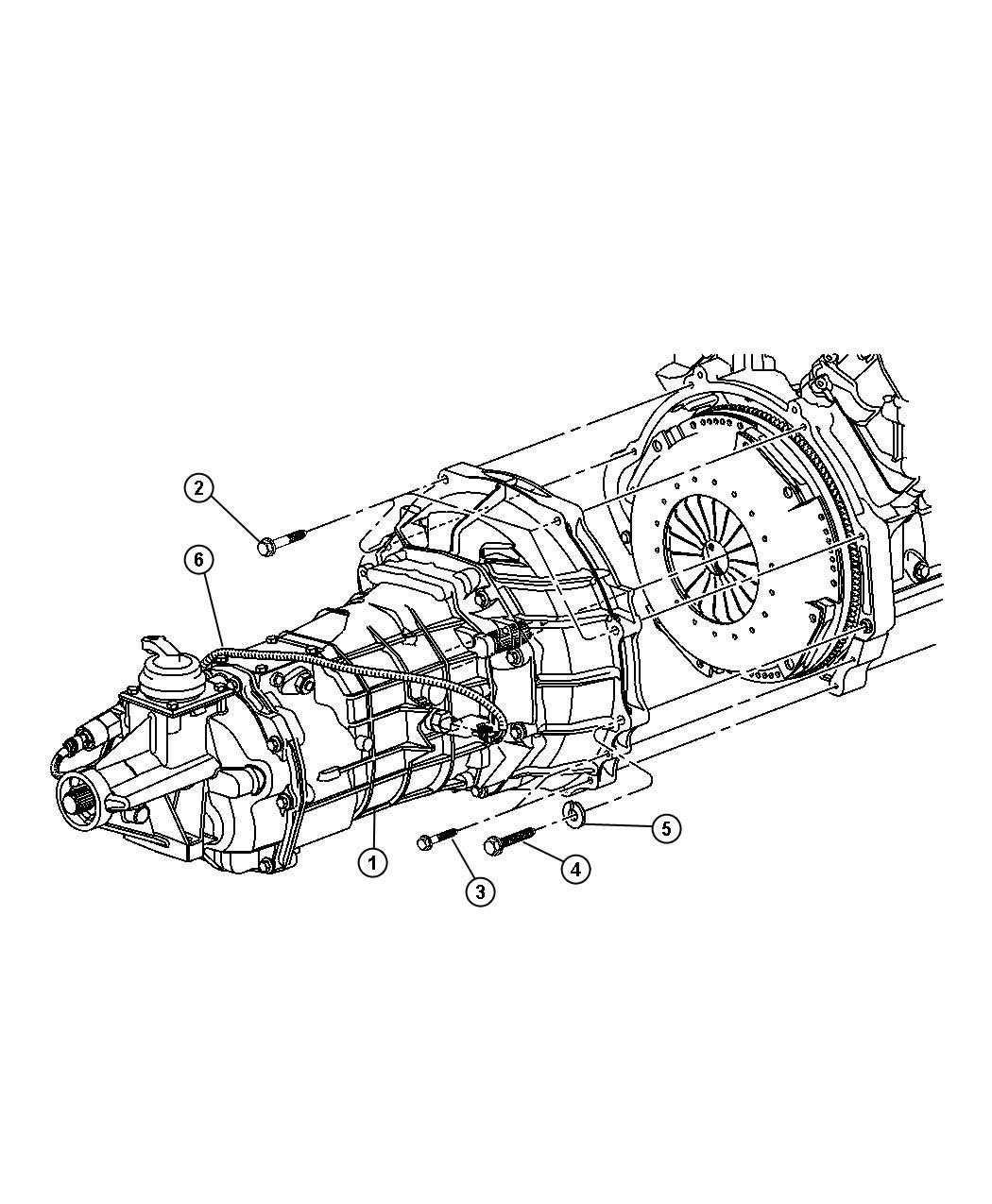 Dodge Ram Screw Hex Head 437 14x2 75 Mounting