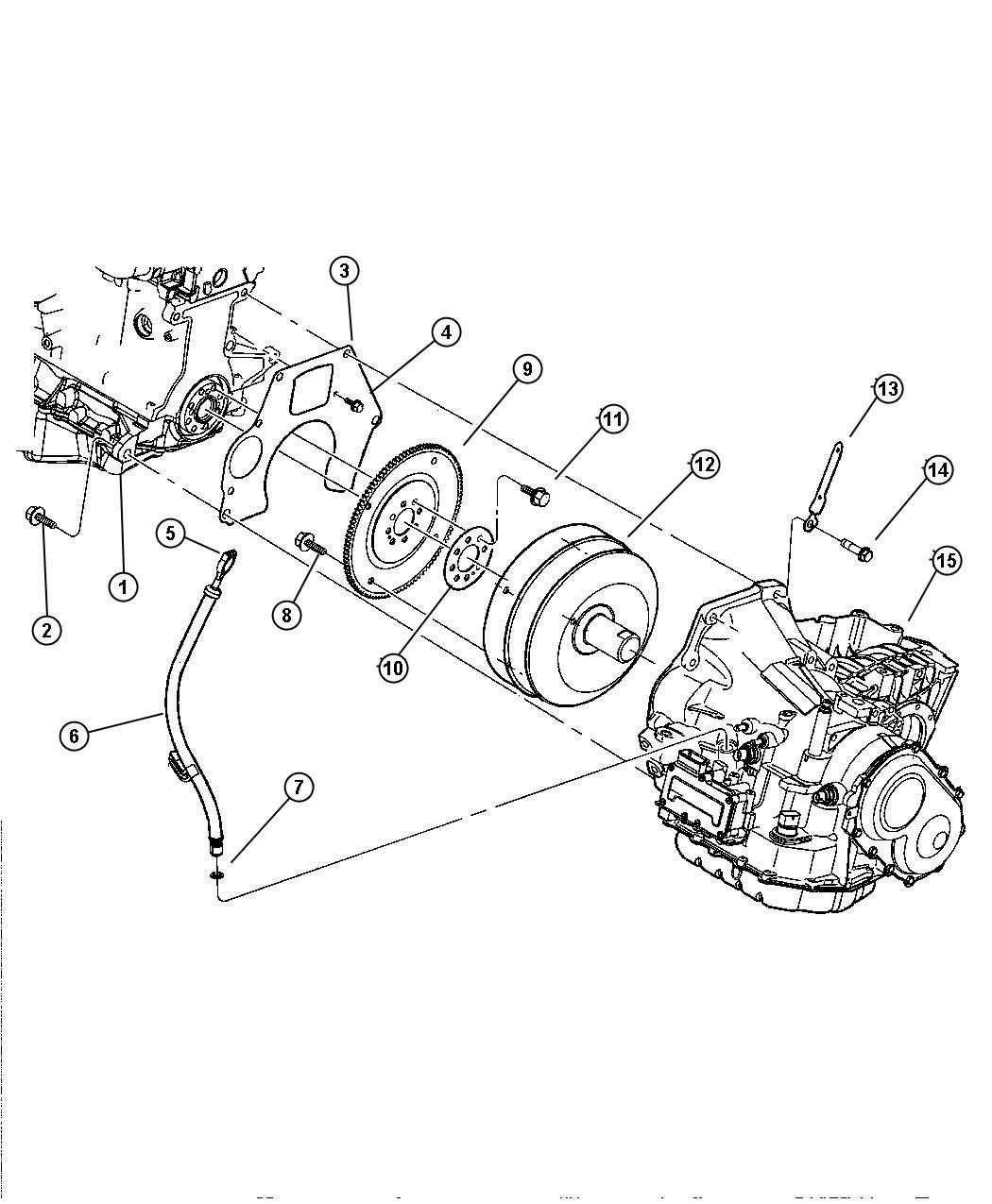 Chrysler PT Cruiser Tube. Transmission oil filler