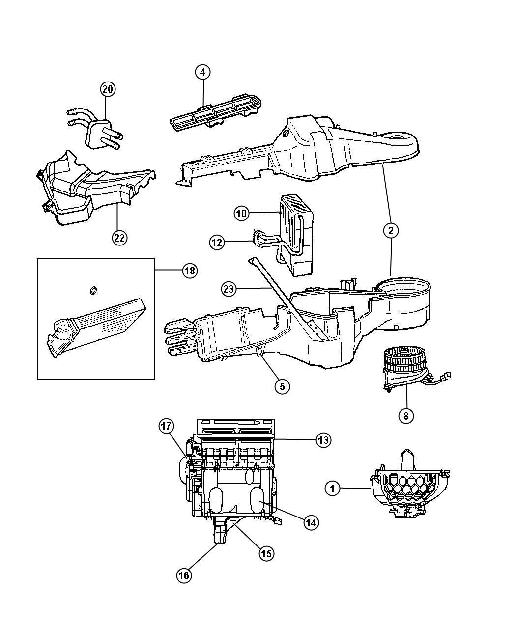 Dodge Grand Caravan Resistor Blower Motor
