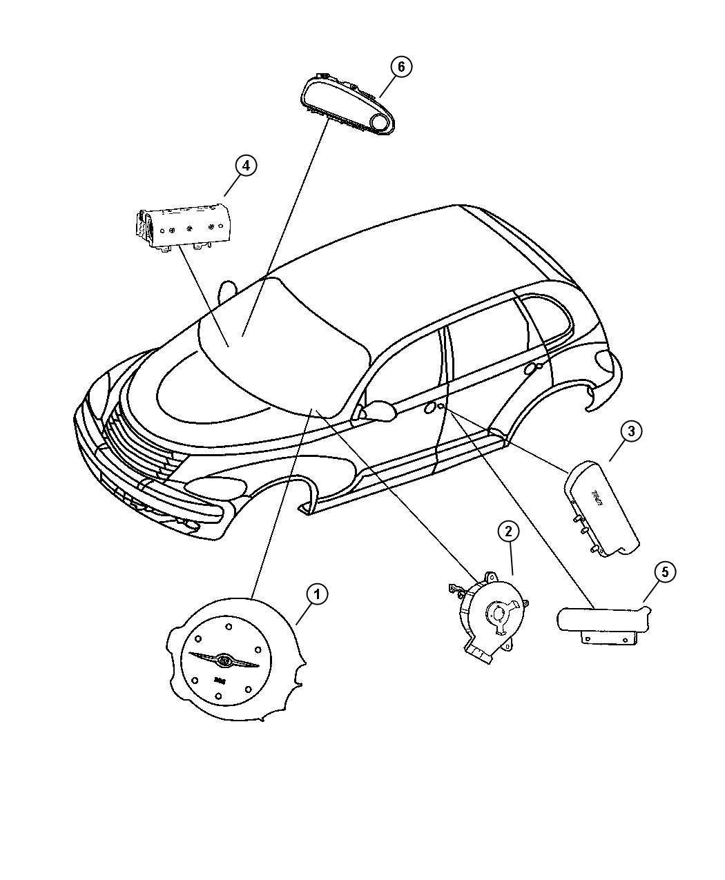 2011 Dodge Ram 4500 Air bag. Driver. [fl]. Trim: [all trim