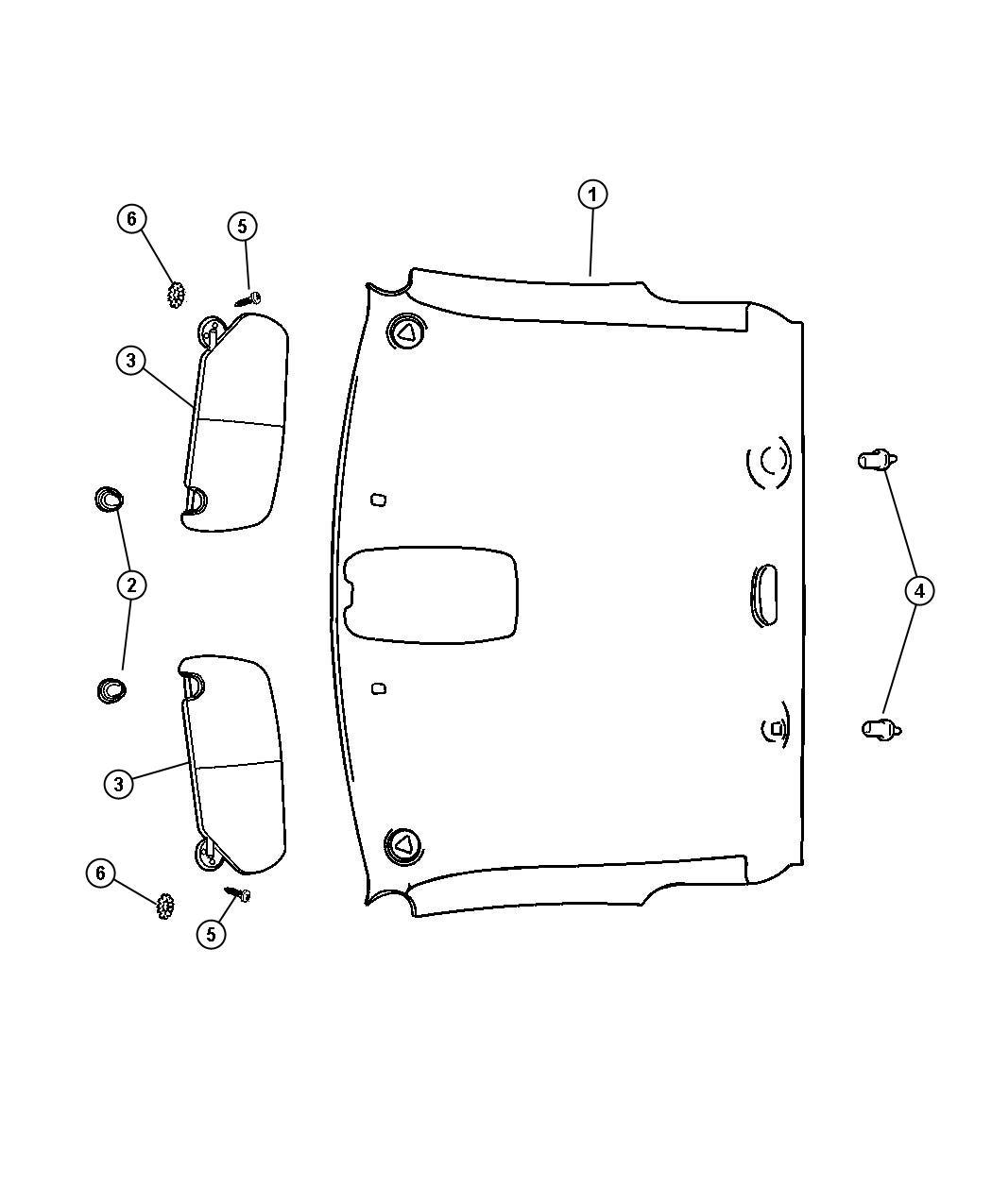 2010 Dodge Journey Hook. Coat. Trim: [all trim codes
