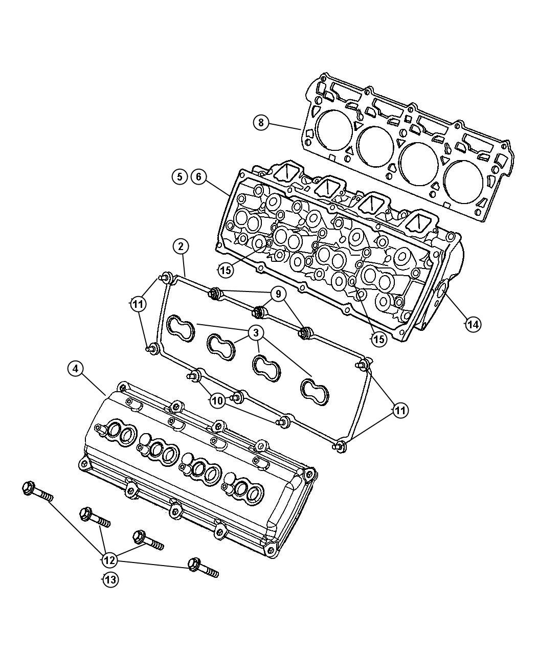 Dodge Ram Gasket Kit Gasket Package Engine