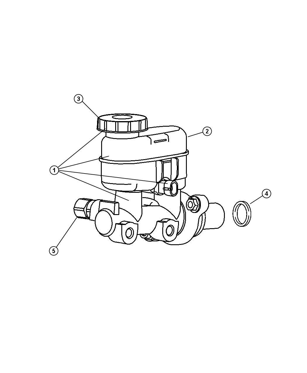 Dodge Neon Valve Proportioning Brakes Front Drum