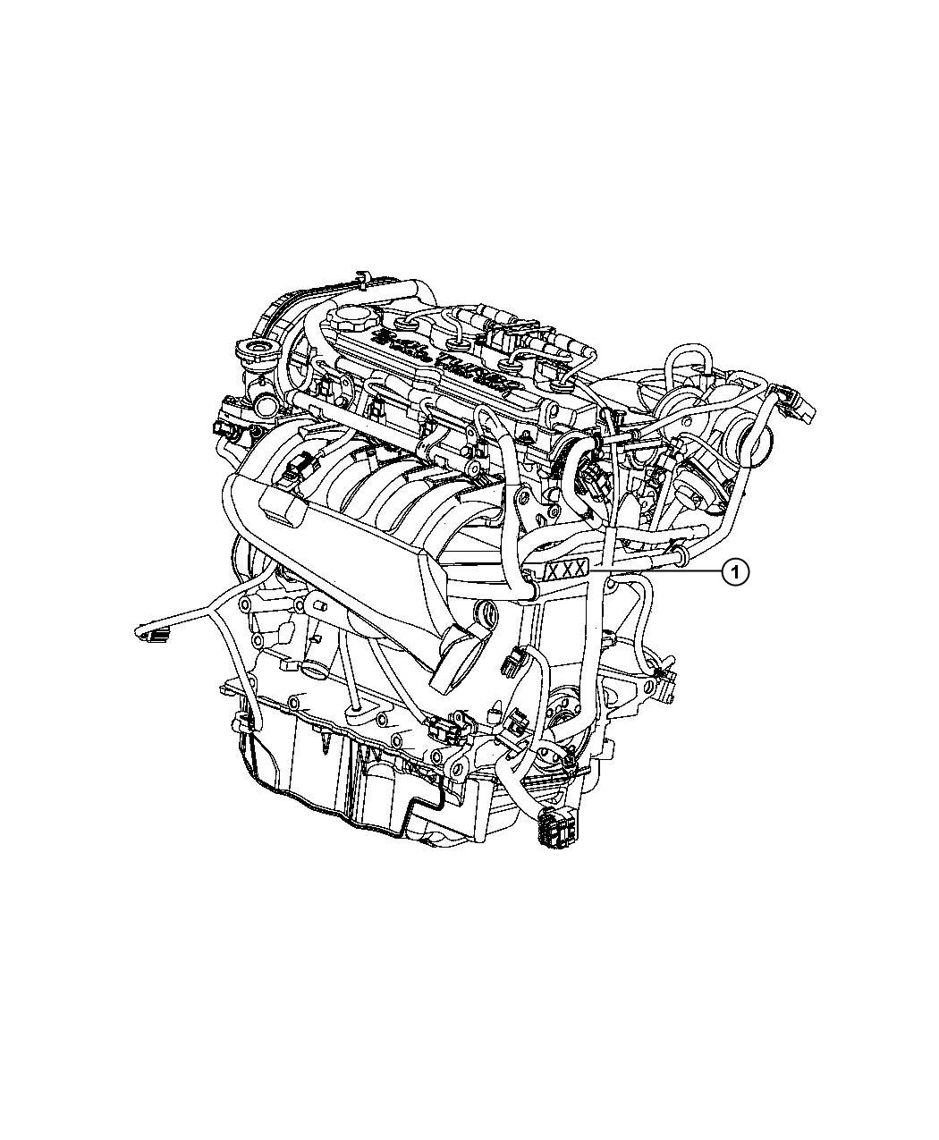 Dodge Neon Engine. Long block. Remanufactured. Turbo, dohc