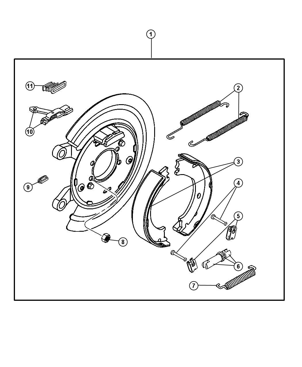 Dodge Ram Adapter Parking Brake Right Or Left